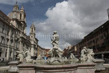 Morobrunnen auf dem Piazza Navona
