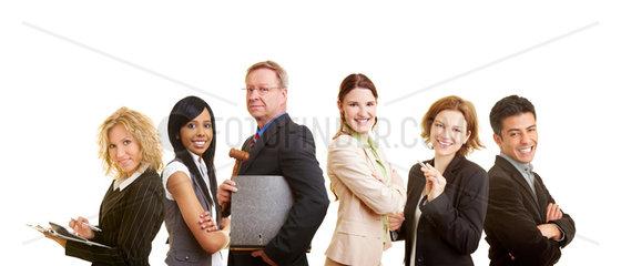 Team von Rechtsanwaelten