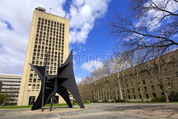Skulptur Das Grosse Segel  MIT  Cambridge  USA