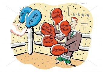 Kampf der Insolvenz