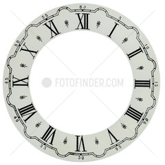 Vintage texture for clock