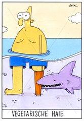Vegetarische Haie