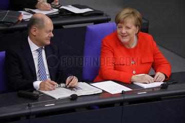 Bundestag 27. September 2018