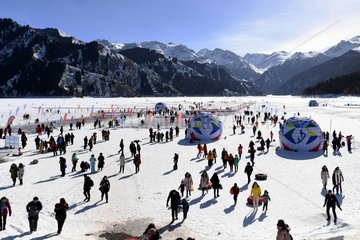 CHINA-XINJIANG-TIANCHI LAKE-WINTER TOURISM (CN)