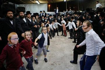 MIDEAST-JERUSALEM-SUKKOT-SIMCHAT BEIT HASHOEVA