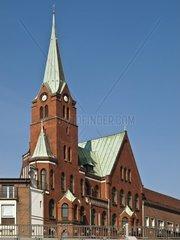 Schwedische Seemannskirche  Hamburg  Deutschland
