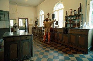 Historisches Labor im Justus Liebig Museum