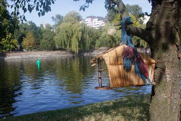 Vogelhaus am Landwehrkanal