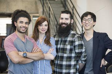 Group of colleagues  portrait