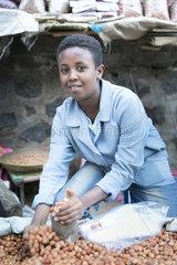 Kinder in der Altstadt von Asmara