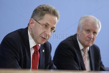 Bundespressekonferenz zum Thema: Vorstellung des Verfassungsschutzberichtes 2017