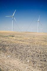 Spanien  Jacobs Windpark im Sueden des Landes