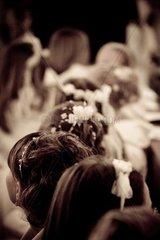 communion ceremony in the church