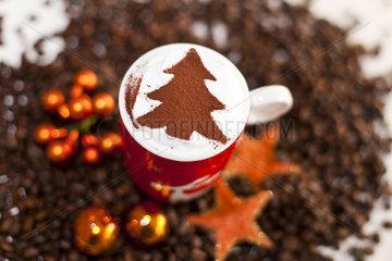 Weihnachtskaffeetasse