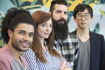 Team of colleagues  portrait