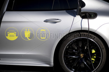 Porsche electric car  NOAH conference
