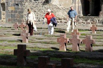 Kriegsgraeber-Gedenkstaette in Kloster Arnsburg