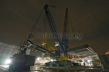 Baustelle Ostkreuz