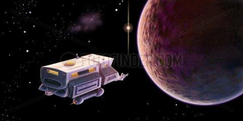 SpaceVan Raumstation 2