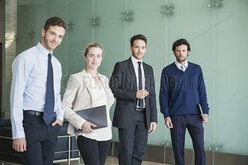 Business professionals  portrait