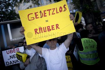 Demo gegen UBER