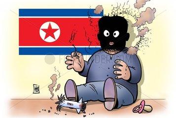 Raketenstart Nordkorea