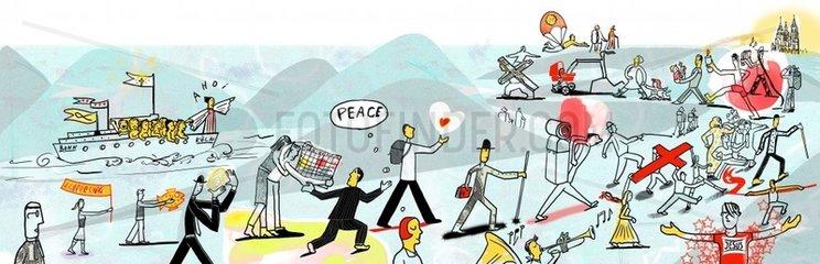 Kirche Frieden Wallfahrt Religionen