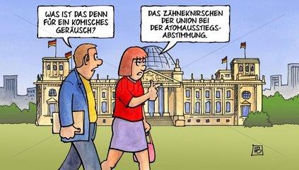 Atomausstieg im Bundestag