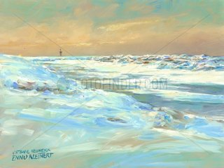 Insel Neuwerk Ostbake Winter 20