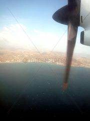 Griechenland Propellerflugzeug