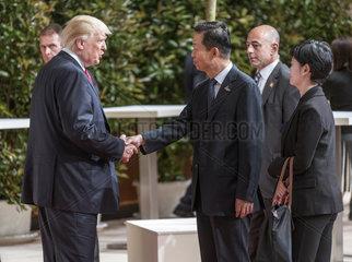 Trump + Xiao Jie