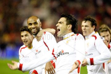 Sevilla  Spanien  FC Sevilla Spieler