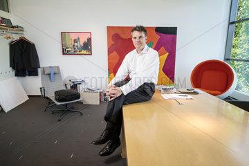 Oliver Bialowons  Geschaeftsfuehrer der huelsta-werke Huels GmbH & Co. KG