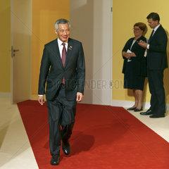 Lee Hsien Loong  Premierminister Singapur