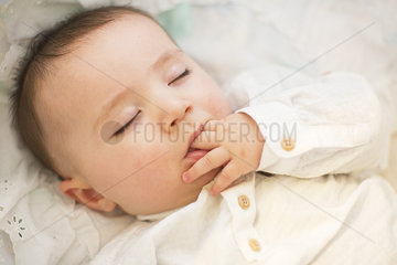 Infant asleep