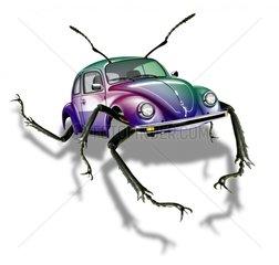 Kaefer VW-Kaefer Kaeferauto Bioauto