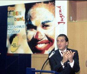 Michel Friedmann  Fachtagung gegen Rassismus der DPG