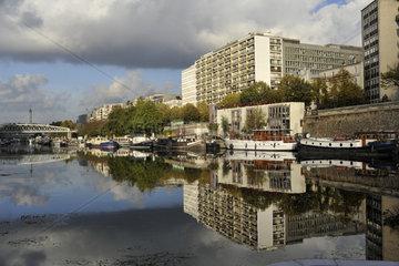 FRANCE - PARIS - ARSENAL HARBOUR