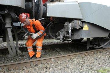 Eisenbahn rangieren