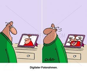 Digitaler Fotorahmen