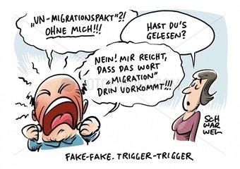 Auswaertiges Amt will Falschmeldungen ueber Migrationspakt bekaempfen