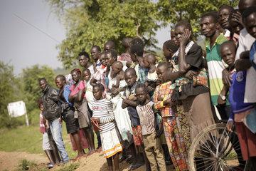 Fluechtlinge im Rhino Refugee Camp Settlement