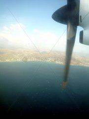 Propellerflugzeug Griechenland