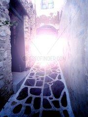 Lichtblendung Griechenland