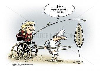 Regierungskoalition von FDP und CDU rangelt um Steuersenkung