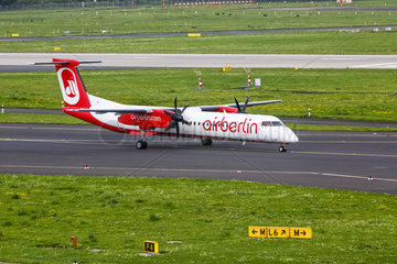 Air Berlin De Havilland Canada DHC-8-402Q Dash 8