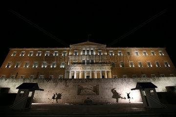 GREECE-ATHENS-EARTH HOUR