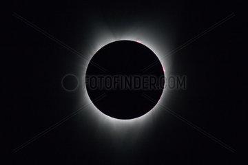 U.S.-OREGON-CORVALLIS-TOTAL SOLAR ECLIPSE