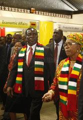 ZIMBABWE-BULAWAYO-ZITF-PRESIDENT-MNANGAGWA