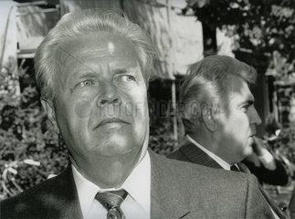 Werner Grossmann  Helmut Schieferdecker  Ex-Stasi  1991
